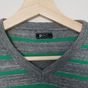 PD&C Sweaters - Striped Sweater by PD&C